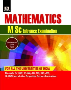 Mathematics (M Sc Entrance Examinations)