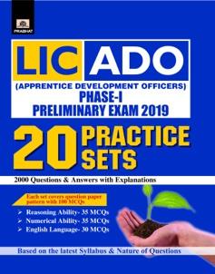 LIC-ADO PHASE-I PRELIMINARY EXAM 2019-20 PRACTICE SETS