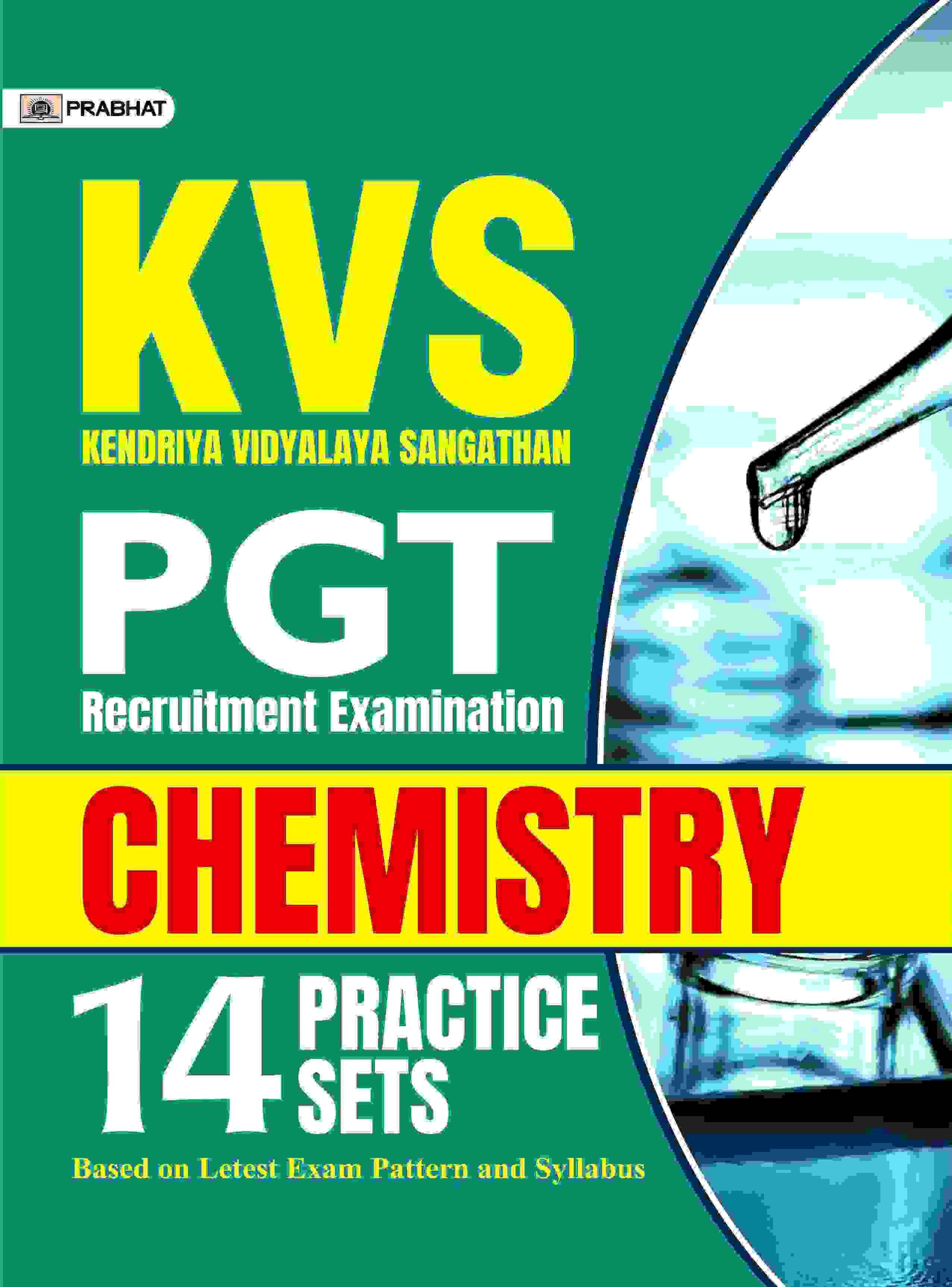 KVS PGT CHEMISTRY 14 Practice sets  (English)