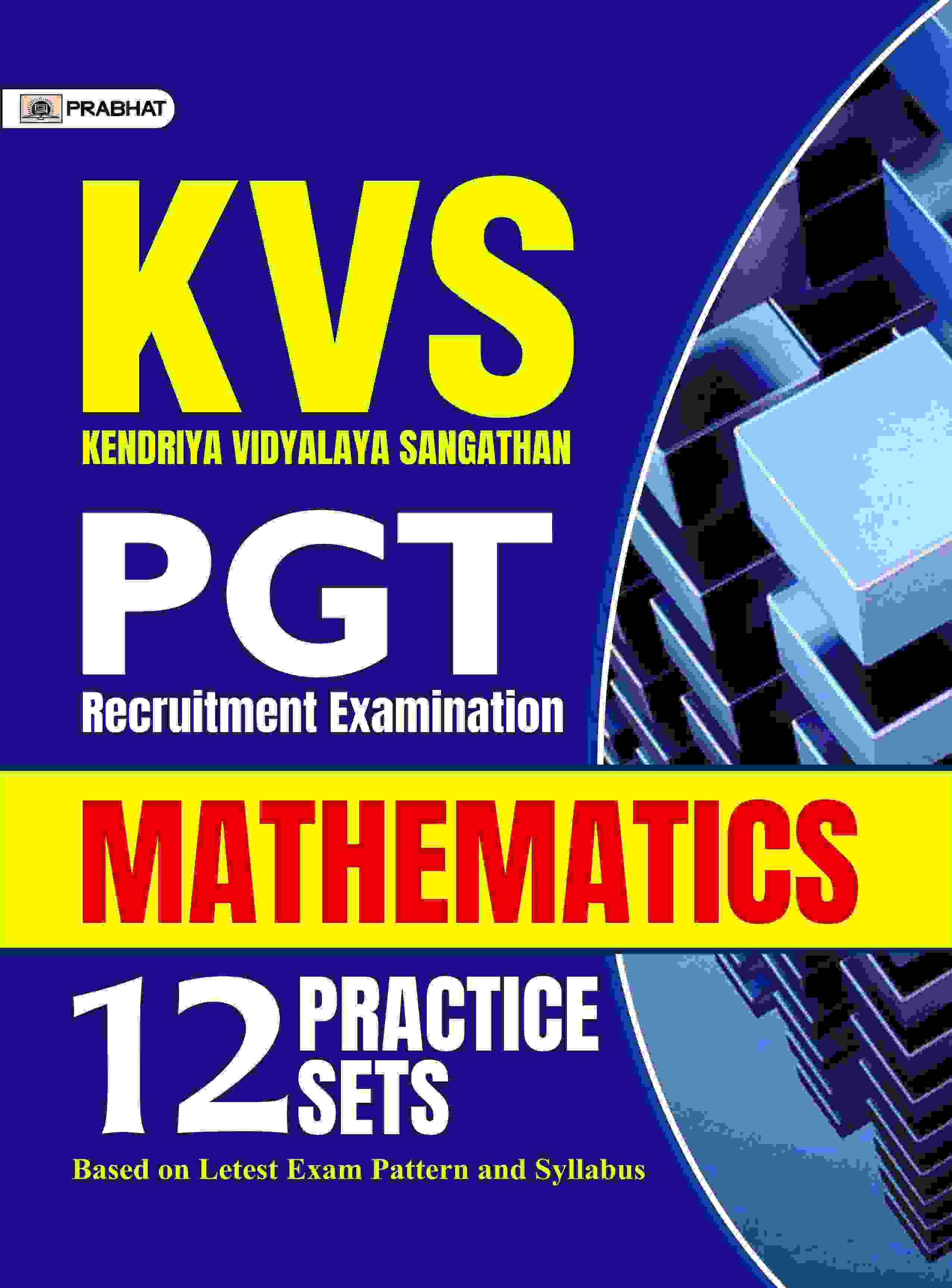 KVS-PGT MATHEMATICS 10 Practice sets (English)
