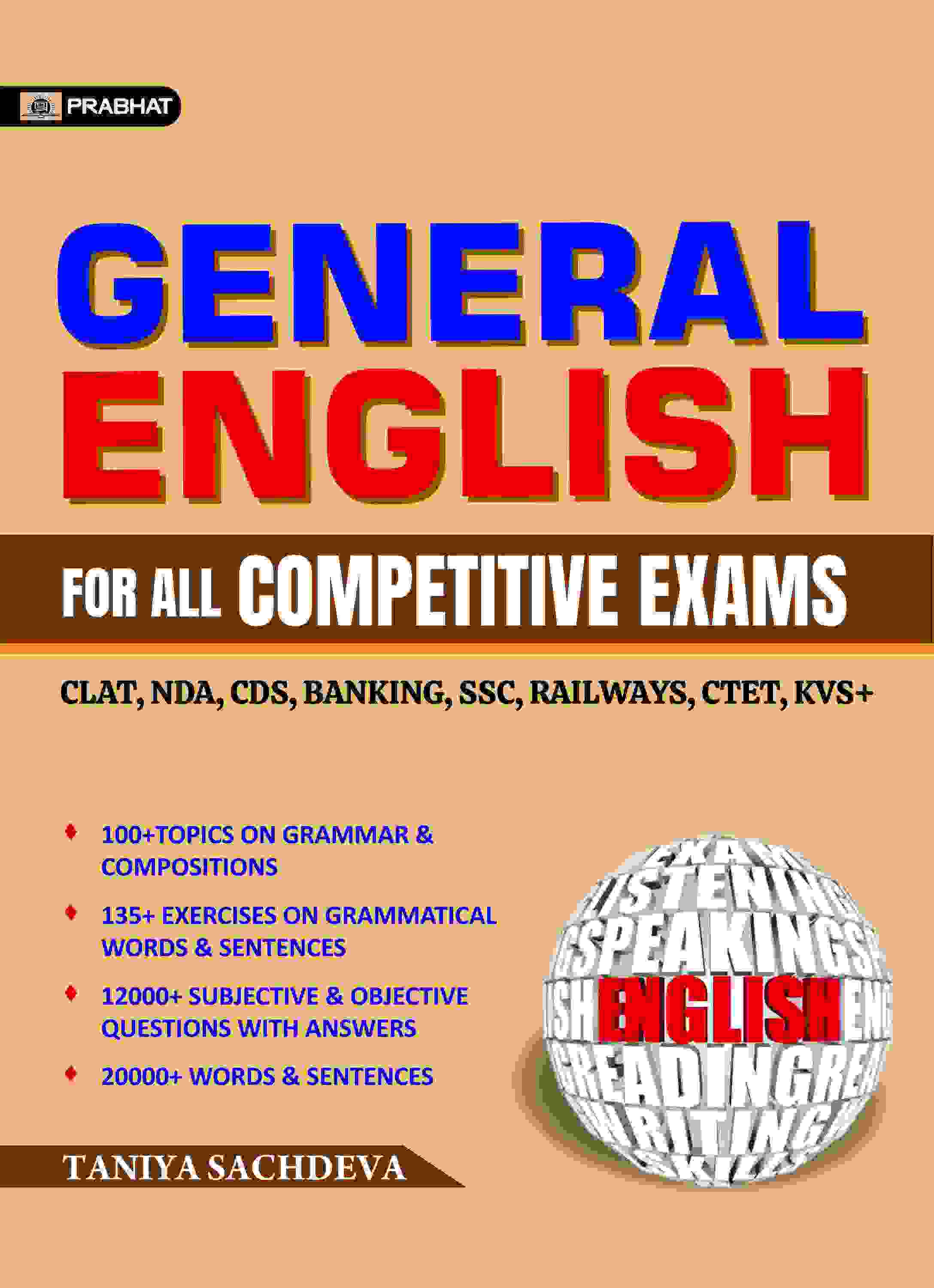 GENERAL ENGLISH FOR ALL COMPETITIVE EXAMS