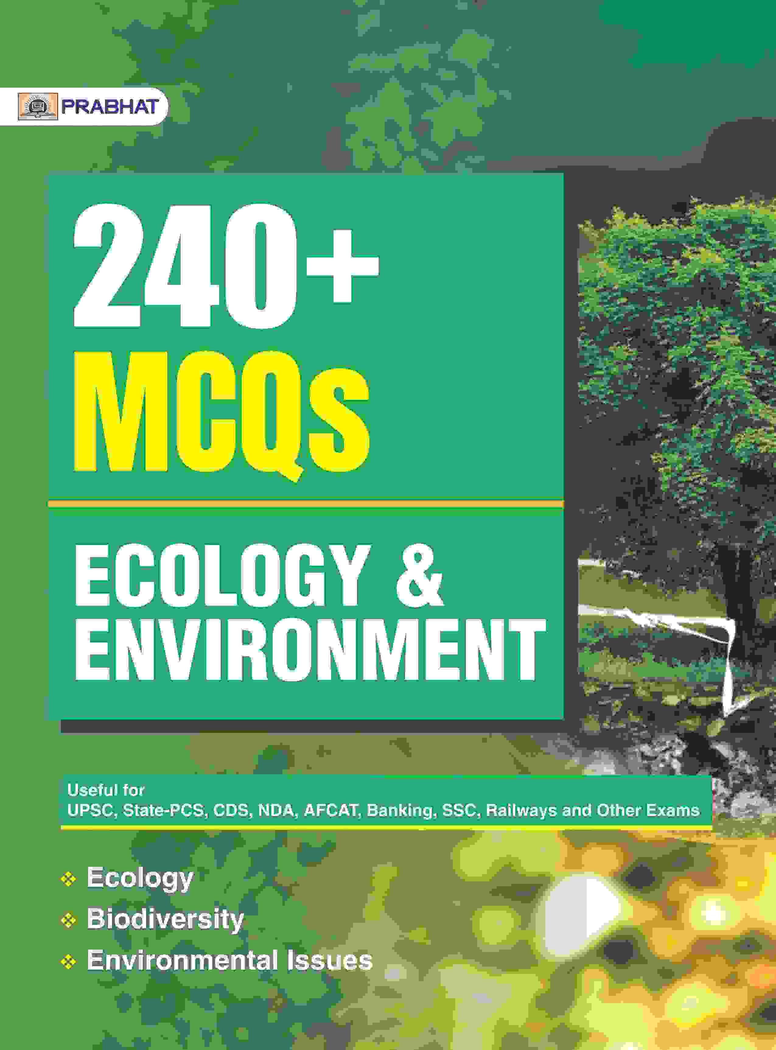 240+ MCQs ECOLOGY & ENVIRONMENT