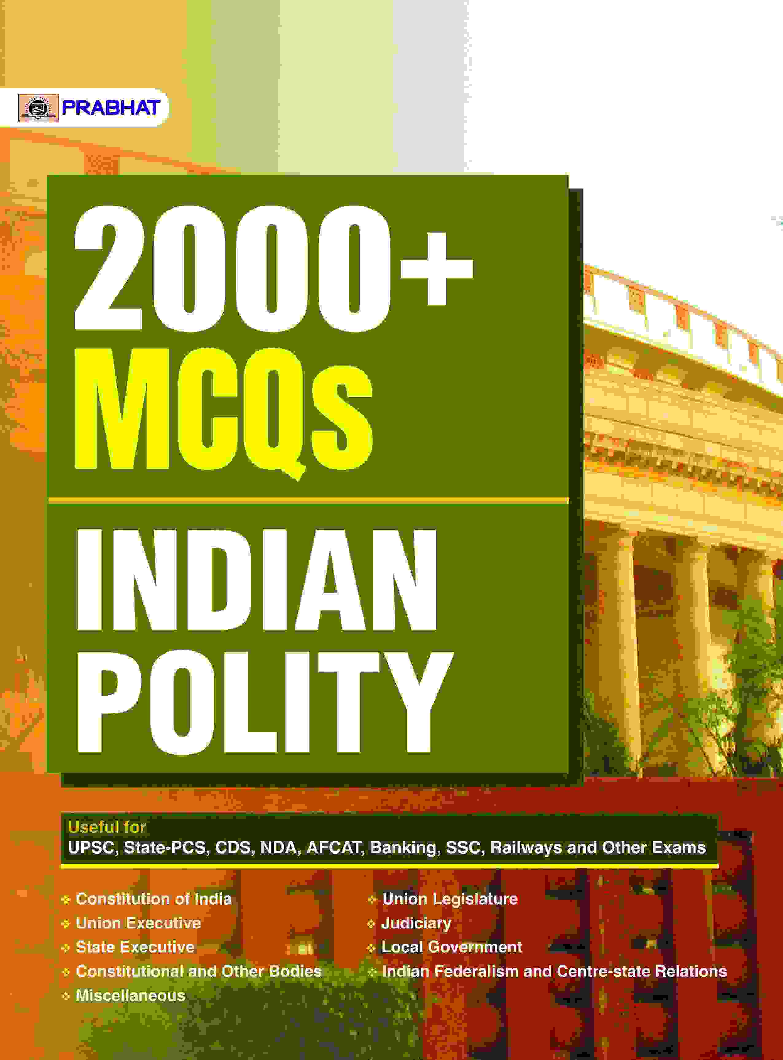 2000+ MCQs Indian Polity