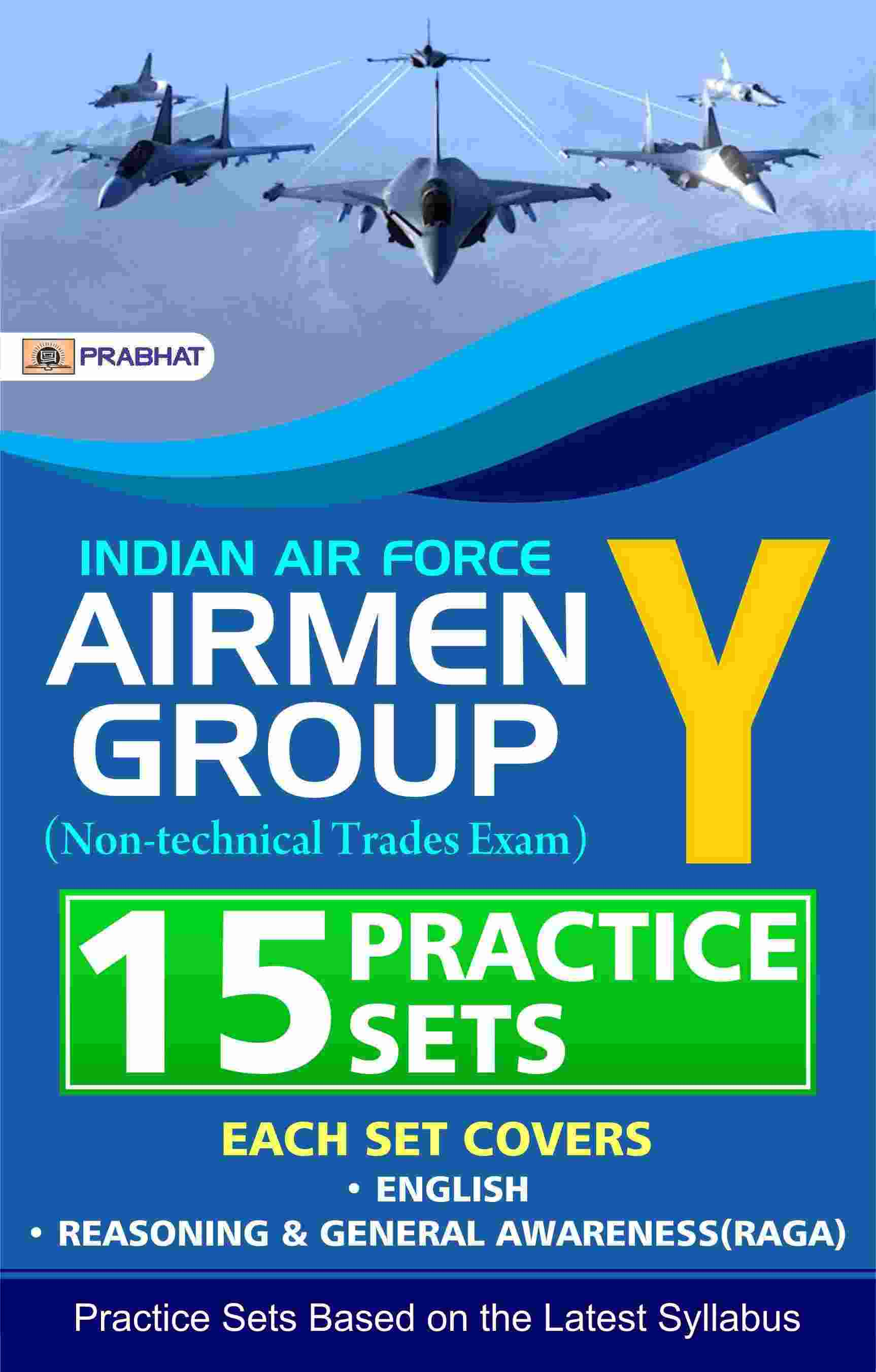 Indian air force Airmen group Y (non-Technical Trades Exam) 15 Practic...