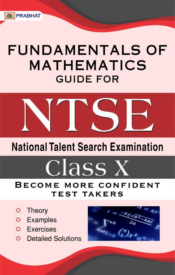 NTSe Fundamentals of Mathematics Scholastic Ability Test (SAT) For Cla...