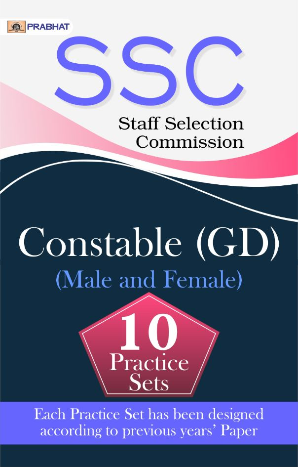 SSC Staff Selection Commission constable (GD) (Male and Female) (10 Pr...