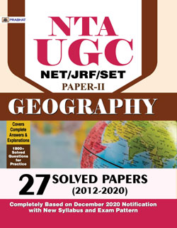 NTA UGC NET/JRF/SET GEOGRAPHY 27 Solved Papers
