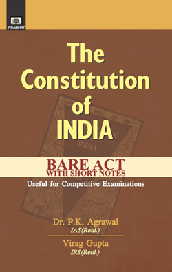 THE CONSTITUTION OF INDIA BARE ACT Paperback – 1 August 2021